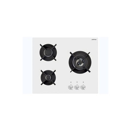 plaque gaz blanche smeg gas hob pv164b 1 white glass base 60 cm fab appliances cuisine blanche. Black Bedroom Furniture Sets. Home Design Ideas