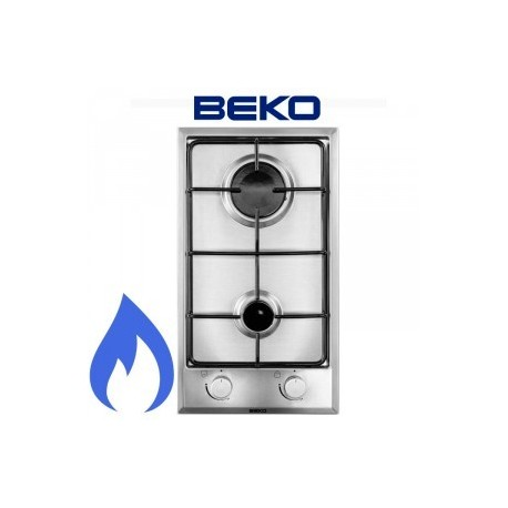 plaque domino gaz beko inox ged planet menager. Black Bedroom Furniture Sets. Home Design Ideas