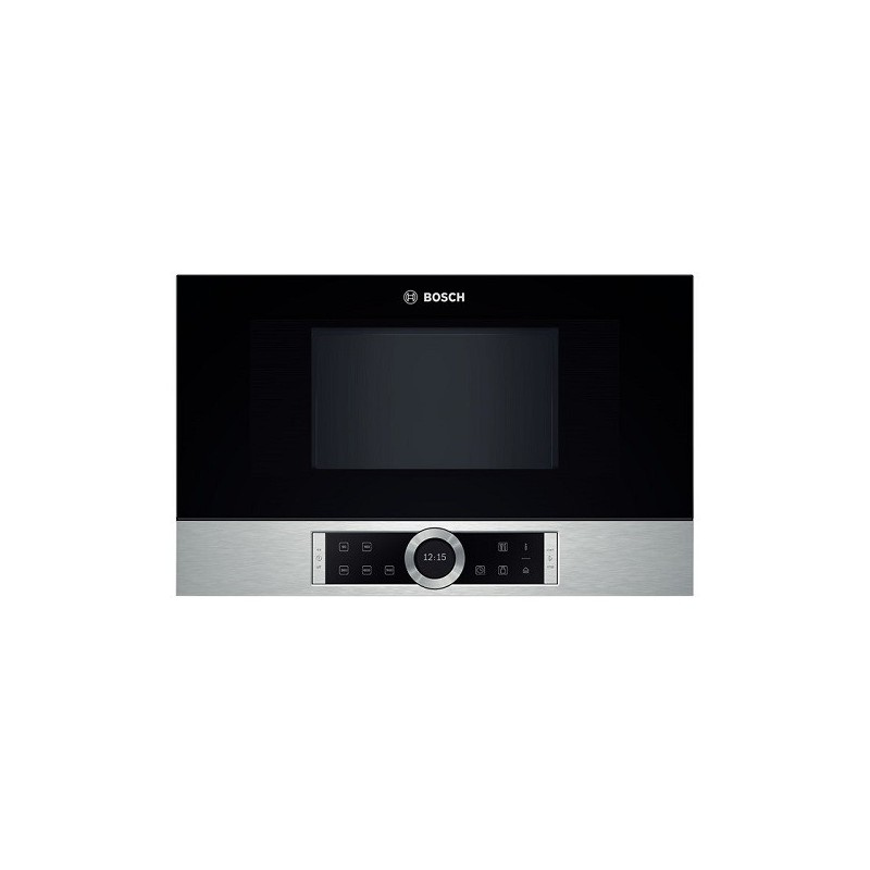 Micro ondes 38cm bosch 21l inox ged planet menager - Micro onde encastrable electro depot ...