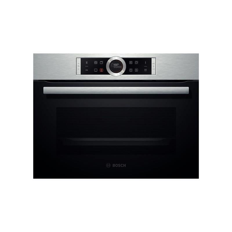 four 45 cm bosch multifonction 47l pyrolyse inox ged planet menager