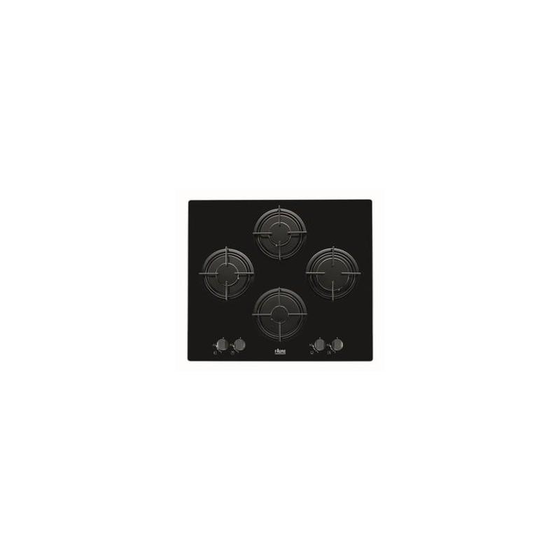 plaque gaz verre faure 4g noir ged planet menager. Black Bedroom Furniture Sets. Home Design Ideas