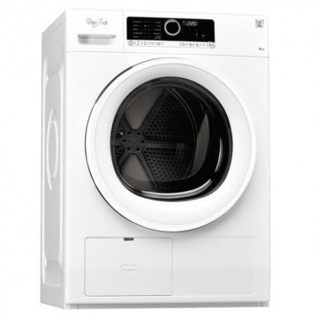seche linge front whirlpool pompe a chaleur 8 kg a ged planet menager. Black Bedroom Furniture Sets. Home Design Ideas