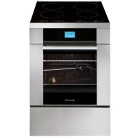CUISINIERE DE DIETRICH INDUCTION 55L FOUR ELEC MULTIF PYROLYSE A INOX