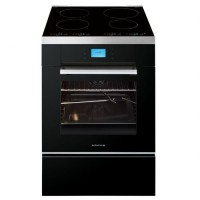 CUISINIERE DE DIETRICH INDUCTION 55L FOUR ELEC MULTIF PYROLYSE A NOIR