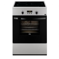 CUISINIERE FAURE INDUCTION FOUR ELEC MULTIF PYROLYSE 56L A SILVER