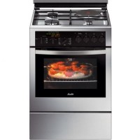 CUISINIERE SAUTER MIXTE 3G+1E FOUR ELECT 50.4L PYROLYSE A INOX