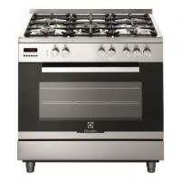 CENTRE DE CUISSON ELECTROLUX 5 GAZ FOUR 110L CATALYSE A INOX