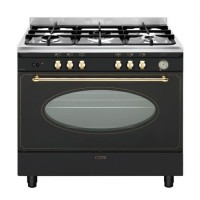 CENTRE DE CUISSON SMEG 5 GAZ  FOUR CATALYSE 130L A