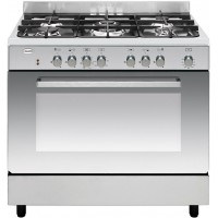 CENTRE DE CUISSON SMEG 5 GAZ FOUR CATALYSE 120L B INOX