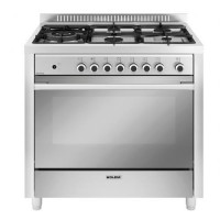 CENTRE DE CUISSON SMEG 5GAZ FOUR CATALYSE 104L B