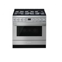 CENTRE DE CUISSON SMEG 6GAZ FOUR VAPOR CLEAN 115L A+