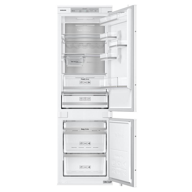 refrigerateur combi samsung 263l 191l 72 l no frost 178cm. Black Bedroom Furniture Sets. Home Design Ideas