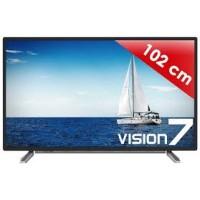TVC LED GRUNDIG 102CM UHD HDR 2D SMART TV NOIR/SILVER