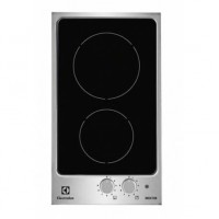 PLAQUE DOMINO ELECTROLUX INDUCTION 3200W NOIR INOX