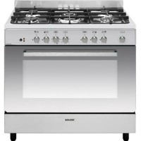 CENTRE DE CUISSON GLEM 5 GAZ FOUR CATALYSE 104L A INOX