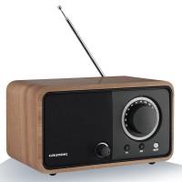 RADIO GRUNDIG FM DE SALON CHENE 5WRMS