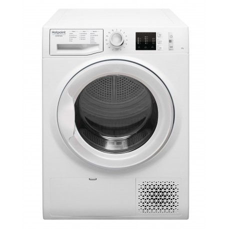 SECHE LINGE HOTPOINT CONDENSATION 8KG 67DB B BLANC
