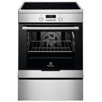 CUISINIERE INDUCTION ELECTROLUX 3 FOYERS FOUR PYROLYSE 73 L INOX