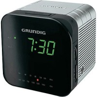 RADIO REVEIL GRUNDIG CUBE FM/PO DOUBLE ALARE LUMINOSITE VARIABLE