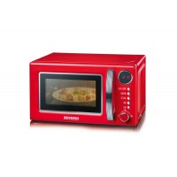 MICRO ONDES SEVERIN GRILL 20L 700W/GRILL1000W ROUGE